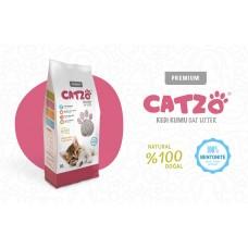 Catzo İnce Taneli Kokusuz Kedi Kumu 10 Litre